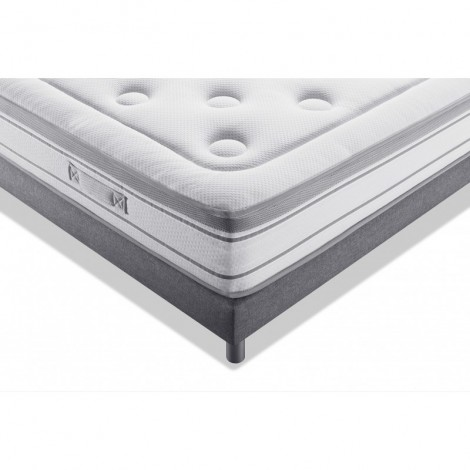 Literie MY MATELAS Excellence Latex Thermorégulé Gris