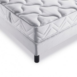 Literie DUNLOPILLO Chabrol (matelas + sommier + pieds)