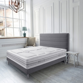 Literie SIMMONS Montaigne (matelas + sommier + pieds)