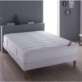 Literie Davy (matelas + sommier + pieds)