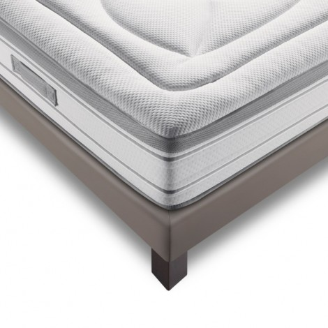 Lit complet MY MATELAS My Memo Taupe